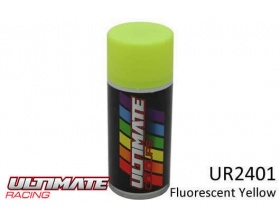 FLUORESCENT YELLOW Spray 150ml UR2401  - Ultimate Racing