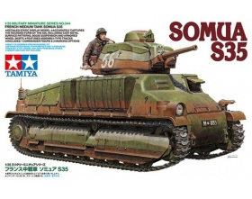 French Medium Tank Somua S35 1:35 | Tamiya 35344