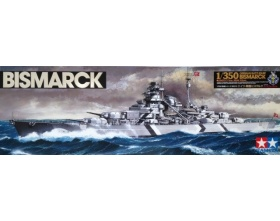 Bismarck German Battleship Kit 1:350 | Tamiya 78013