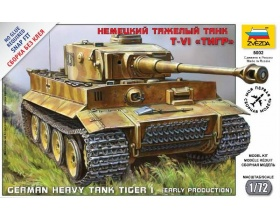 German Heavy Tank Tiger I 1:72 | Zvezda 5002