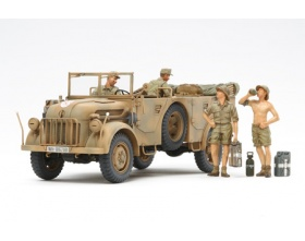 German Steyr Type 1500A/01 - and Africa Corps Infantry Rest 1:35 | Tamiya 35305