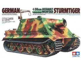 German Sturmtiger Assault Tank 38cm Mortar 1:35 | Tamiya 35177