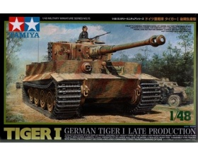 German Tiger I late production 1:48 | Tamiya 32575
