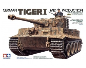 German Tiger I Mid Production 1:35 | Tamiya 35194