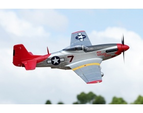 "Giant P-51D Mustang ""Red Tail"" 1700mm EPP ARF - FMS"