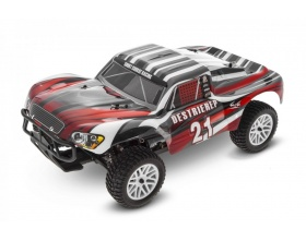 HIMOTO Short Course 1:10 Electric 4WD RTR (czerwony)