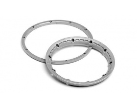HPI BAJA HEAVY DUTY WHEEL BEAD LOCK RINGS 3272
