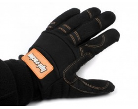 HPI PIT GLOVES (BLACK/XX LARGE)-HPI 92630