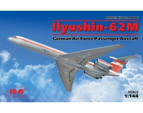 Ilyushin-62M, German Air Force Passenger Aircraft 1:144 | ICM 14406