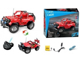 JEEP WRANGLER RC z klocków - Double Eagle (C51001W)