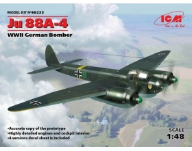 Ju 88A4 German bomber 1:48 | ICM 48233