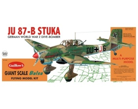 Junkers JU 87-B STUKA 870mm - 1002 Guillow
