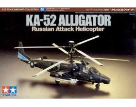 KA-52 Alligator Russian Attack Helicopter 1:72 | Tamiya 60761