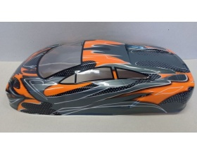 KAROSERIA 1:10 ON-ROAD black/orange - HSP 10030-2