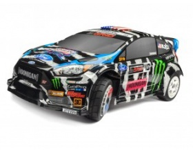 KEN BLOCK 2014 FORD FIESTA PAINTED BODY (WR8 FLUX)-HPI 114369