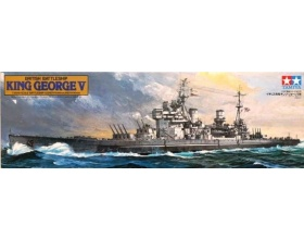 King George V British Battleship Kit 1:350 | Tamiya 78010