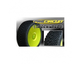 Koła PROCIRCUIT Shock Wave 4szt. medium żółte PC1004-YB