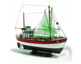 RAINBOW 1:60 kuter rybacki KIT - Billing Boats