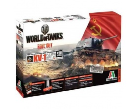 KV-1 / KV-2 WORLD OF TANKS 1:35 | Italeri 36505
