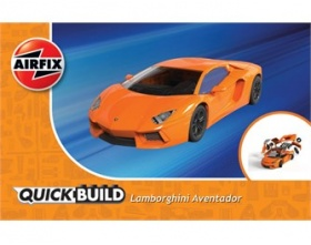LAMBORGHINI AVANTADOR QUICK BUILD | Airfix 6007