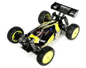 Losi Mini8 Buggy 1:14 4WD Brushless czarny RTR