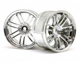 LP29 WHEEL RAYS VOLKRACING RE30 CHROME (2pcs)-HPI 33476