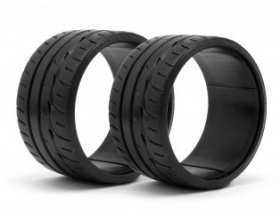 LP35 T-DRIFT TIRE BRIDGESTONE POTENZA RE-11 (2pcs)-HPI 33470
