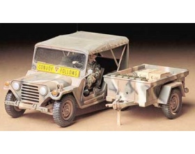 M151A2 with Cargo trailer 1:35 | Tamiya 35130