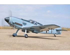 Messerschmitt BF-109E (2200mm) ARF - BH109 Black Horse