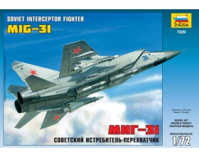 MiG-31 Soviet Interceptor Fighter 1:72 | Zvezda 7229
