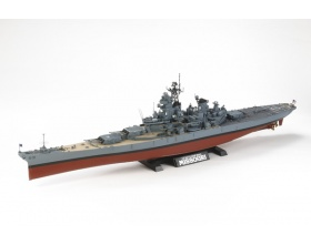 Missouri  US Battleship BB-63 (c. 1991) 1:350 | Tamiya 78029