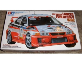 Mistubishi Lancer Evolution V WRC MAKINEN | Tamiya 24203