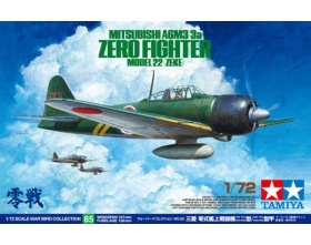 Mitsubishi A6M3/3a Zero Fighter Model 22 (Zeke) 32 1:72 | Tamiya 60785