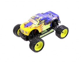 Monster Truck 1:16 EXM-16 Electric 4WD RTR 2,4 GHz (niebieski) - HIMOTO