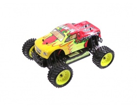 Monster Truck 1:16 EXM-16 Electric 4WD RTR 2,4 GHz (czerwony) - HIMOTO