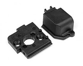 Motor Mount and Gear Cover 1Pc (ALL Ion)-HPI MV2810