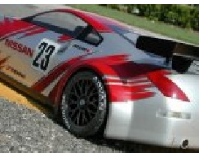 NISSAN 350Z NISMO GT RACE BODY (190mm)-HPI 7385