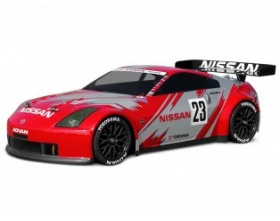 NISSAN 350Z NISMO GT RACE BODY (200mm)-HPI 7485