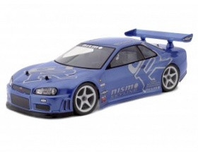 NISSAN SKYLINE R34 GT-R BODY (190mm)-HPI 7327