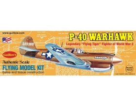 P-40 Warhawk 419mm - 501 Guillow