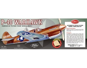 P-40 Warhawk 711mm - 405 Guillow