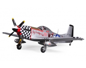 "P-51 Mustang V2 (Baby WB) ""Big Beautifull Doll"" 800mm ARF - FMS"