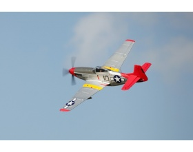 "P-51D Mustang ""Red Tail"" V8 1450mm EPP ARF - FMS"