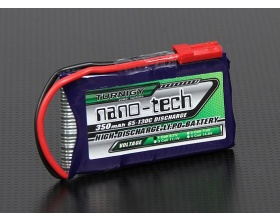 Pakiet TURNIGY nano-techH 350mAh 1S 65-130C
