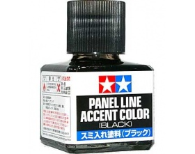 Panel Line Accent Color - Black - 40ml | Tamiya 87131