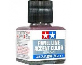 Panel Line Accent Color - Gray - 40ml | Tamiya 87133