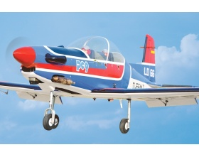 Pilatus PC-9 60 (1550mm) ARF - BH079 Black Horse