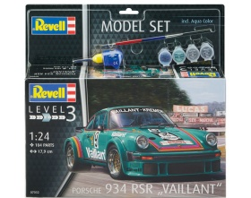 Porsche 934 RSR Vailliant Model SET 1:24 | Revell 67032