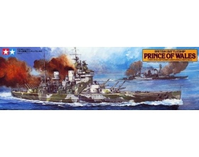 Prince of Wales British Battleship Kit 1:350 | Tamiya 78011
