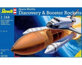 Prom kosmiczny Space Shuttle Discovery 1:144 | Revell 04736